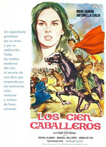 "Poster for the movie ""Los cien caballeros"""