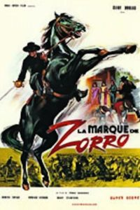 "Poster for the movie ""El zorro"""
