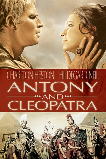 "Poster for the movie ""Marco Antonio y Cleopatra"""