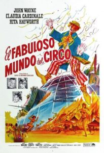 "Poster for the movie ""El fabuloso mundo del circo"""