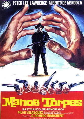 "Poster for the movie ""Manos torpes"""