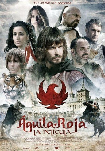 "Poster for the movie ""Águila Roja. La película"""