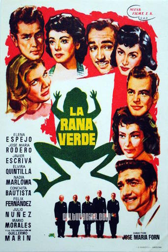 "Poster for the movie ""La rana verde"""