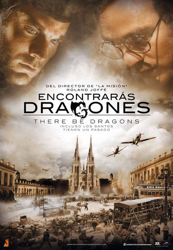 "Poster for the movie ""There be Dragons"""