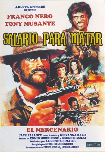 "Poster for the movie ""Salario para matar"""