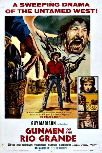 "Poster for the movie ""Desafio en Rio Bravo"""