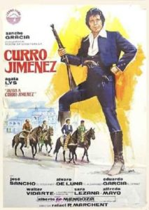 "Poster for the movie ""Curro Jimenez"""