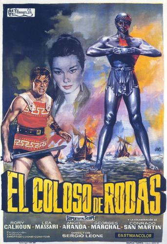 "Poster for the movie ""El Coloso de Rodas"""