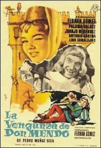 "Poster for the movie ""La venganza de Don Mendo"""