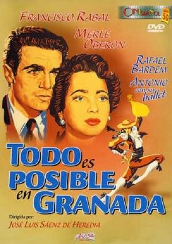 "Poster for the movie ""Todo es posible en Granada"""