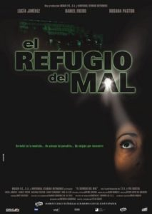 "Poster for the movie ""El refugio del mal"""