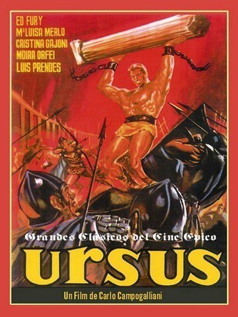 "Poster for the movie ""Ursus"""