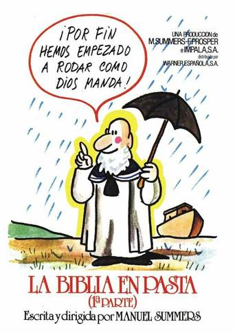 "Poster for the movie ""La Biblia en pasta"""