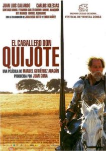 "Poster for the movie ""El Caballero Don Quijote"""