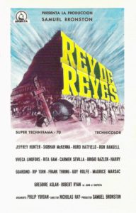 "Poster for the movie ""Rey de reyes"""