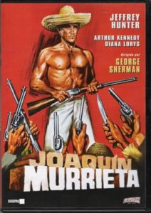 "Poster for the movie ""Joaquín Murrieta"""