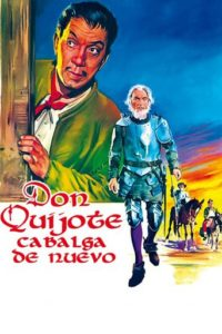 "Poster for the movie ""Don Quijote cabalga de nuevo"""