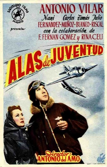 "Poster for the movie ""Alas de juventud"""