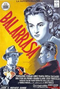 "Poster for the movie ""Balarrasa"""