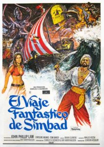 "Poster for the movie ""El viaje fantastico de Simbad"""