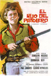 "Poster for the movie ""El hijo del pistolero"""