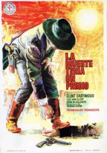 "Poster for the movie ""La muerte tenia un precio"""