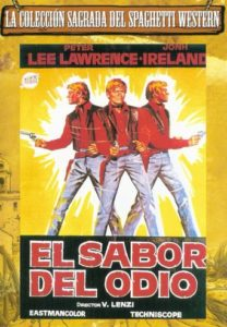"Poster for the movie ""El sabor del odio"""