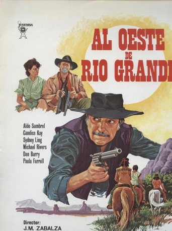 "Poster for the movie ""Al oeste de Rio Grande"""