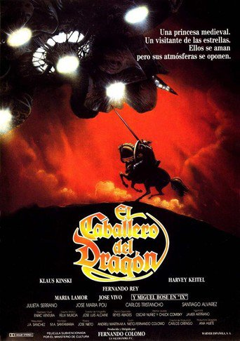 "Poster for the movie ""El Caballero del Dragón"""