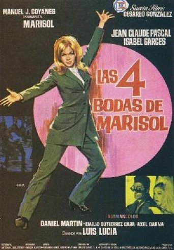 "Poster for the movie ""Las cuatro bodas de Marisol"""