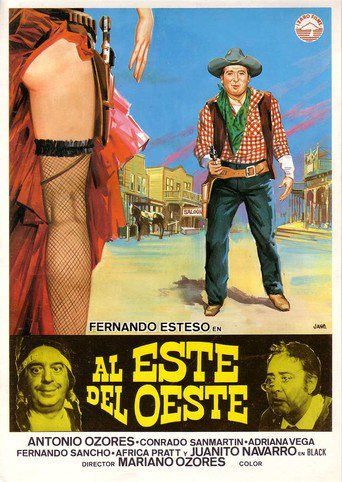 "Poster for the movie ""Al este del oeste"""