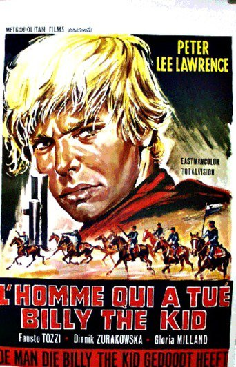 "Poster for the movie ""El hombre que mató a Billy el Niño"""