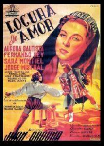 "Poster for the movie ""Locura de amor"""