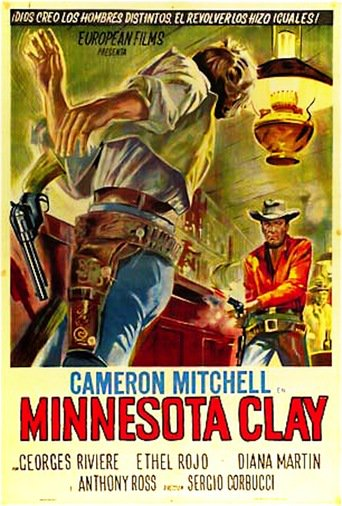 "Poster for the movie ""Minnesota Clay"""