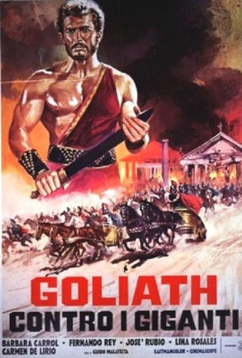 "Poster for the movie ""Goliath contra los gigantes"""
