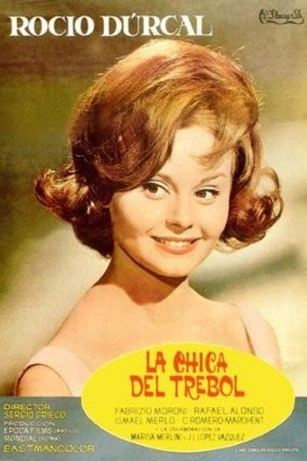 "Poster for the movie ""La chica del trebol"""