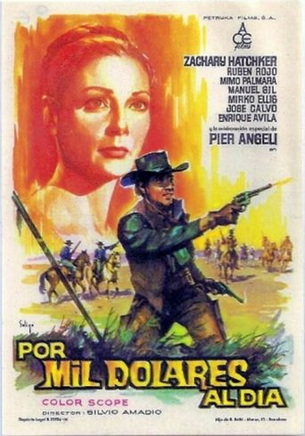 "Poster for the movie ""Por mil dolares al día"""