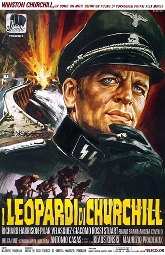 "Poster for the movie ""Los Leopardos de Churchill"""