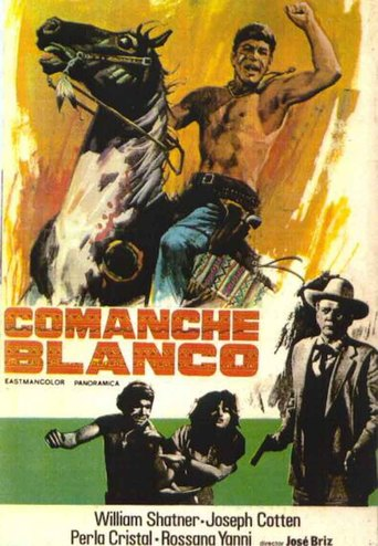 "Poster for the movie ""Comanche blanco"""