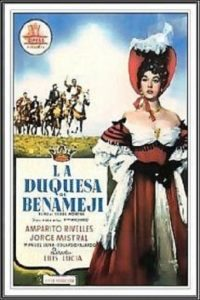 "Poster for the movie ""La Duquesa de Benamejí"""