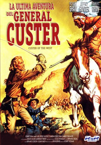 "Poster for the movie ""La última aventura del general Custer"""