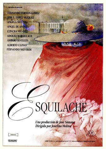 "Poster for the movie ""Esquilache"""