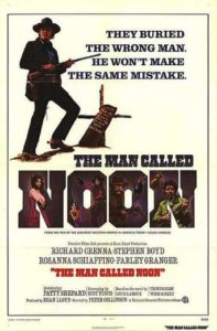 "Poster for the movie ""Un hombre llamado Noon"""