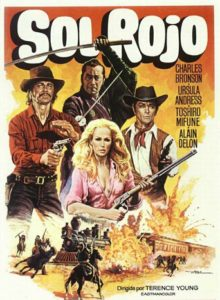 "Poster for the movie ""Sol Rojo"""