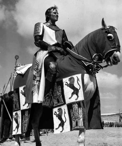 Charlton Heston en El Cid