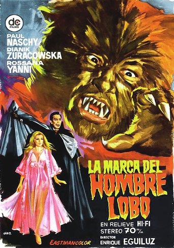 "Poster for the movie ""La marca del hombre lobo"""
