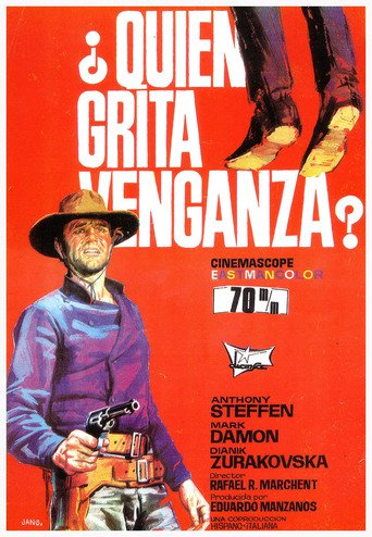 "Poster for the movie ""¿Quién grita venganza?"""