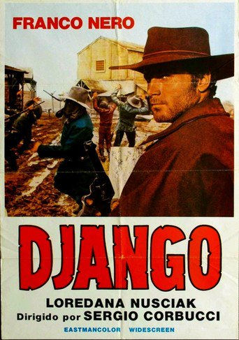 "Poster for the movie ""Django"""