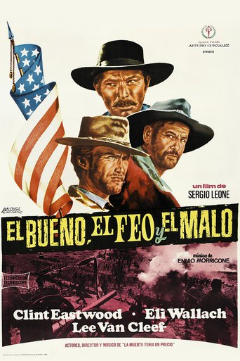 "Poster for the movie ""El Bueno el Feo y el Malo"""