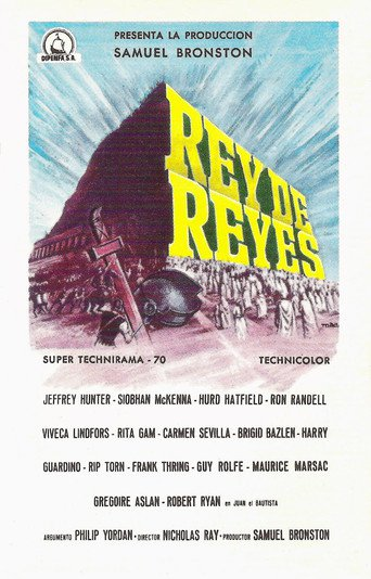 """Poster for the movie """"Rey de reyes"""""""